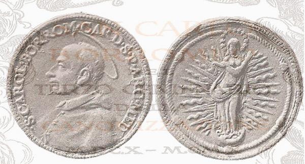 Las  MEDALLAS de San CARLOS BORROMEO. SIGLOS XVI- XVII- XVIII. Apuntes iconográficos. 501111