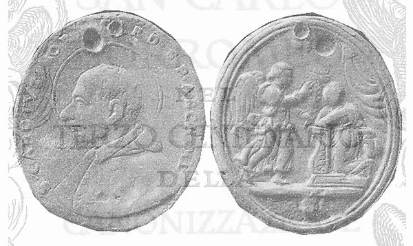 Las  MEDALLAS de San CARLOS BORROMEO. SIGLOS XVI- XVII- XVIII. Apuntes iconográficos. 502mar10