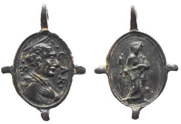 Las  MEDALLAS de San CARLOS BORROMEO. SIGLOS XVI- XVII- XVIII. Apuntes iconográficos. 5_avel10