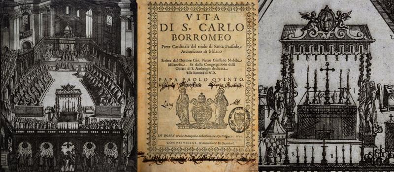 Las  MEDALLAS de San CARLOS BORROMEO. SIGLOS XVI- XVII- XVIII. Apuntes iconográficos. _g_mag10