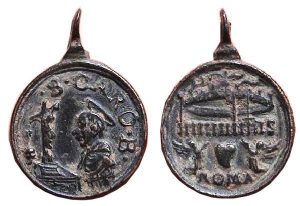 Las  MEDALLAS de San CARLOS BORROMEO. SIGLOS XVI- XVII- XVIII. Apuntes iconográficos. Agripa10