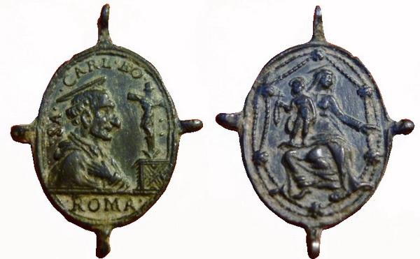 Las  MEDALLAS de San CARLOS BORROMEO. SIGLOS XVI- XVII- XVIII. Apuntes iconográficos. Archiv15