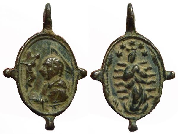 Las  MEDALLAS de San CARLOS BORROMEO. SIGLOS XVI- XVII- XVIII. Apuntes iconográficos. Archiv16