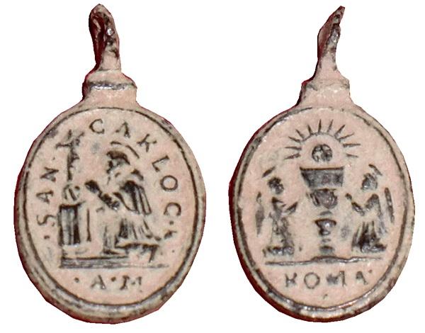 Las  MEDALLAS de San CARLOS BORROMEO. SIGLOS XVI- XVII- XVIII. Apuntes iconográficos. Archiv17