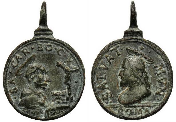 Las  MEDALLAS de San CARLOS BORROMEO. SIGLOS XVI- XVII- XVIII. Apuntes iconográficos. Archiv18