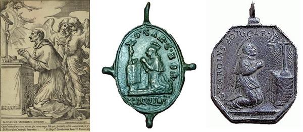 Las  MEDALLAS de San CARLOS BORROMEO. SIGLOS XVI- XVII- XVIII. Apuntes iconográficos. Arrodi10
