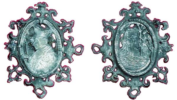 Las  MEDALLAS de San CARLOS BORROMEO. SIGLOS XVI- XVII- XVIII. Apuntes iconográficos. Assaet10
