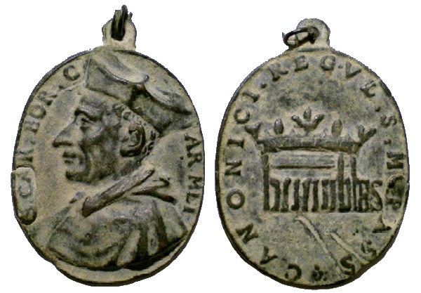 Las  MEDALLAS de San CARLOS BORROMEO. SIGLOS XVI- XVII- XVIII. Apuntes iconográficos. Avelin10