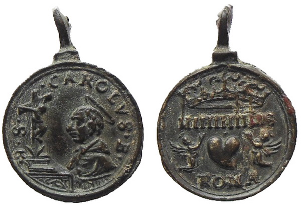 Las  MEDALLAS de San CARLOS BORROMEO. SIGLOS XVI- XVII- XVIII. Apuntes iconográficos. Avelin11