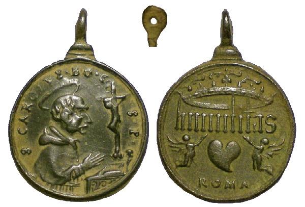 Las  MEDALLAS de San CARLOS BORROMEO. SIGLOS XVI- XVII- XVIII. Apuntes iconográficos. Avelin12