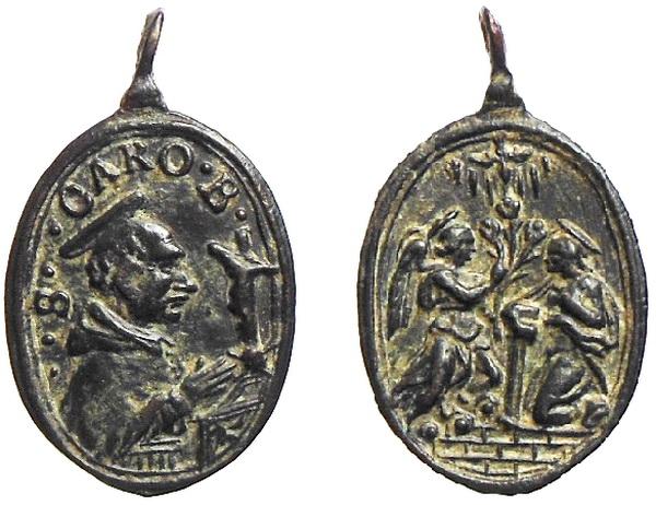 Las  MEDALLAS de San CARLOS BORROMEO. SIGLOS XVI- XVII- XVIII. Apuntes iconográficos. Avelin13