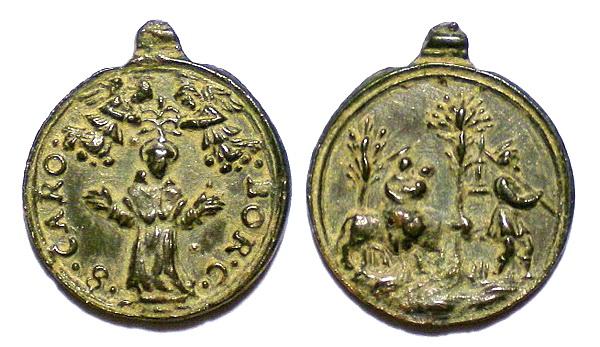 Las  MEDALLAS de San CARLOS BORROMEO. SIGLOS XVI- XVII- XVIII. Apuntes iconográficos. Avelin15