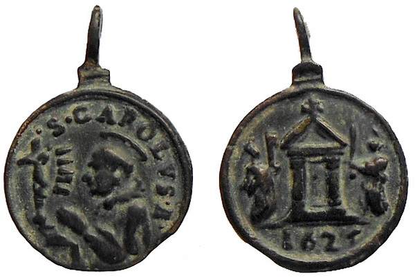 Las  MEDALLAS de San CARLOS BORROMEO. SIGLOS XVI- XVII- XVIII. Apuntes iconográficos. Avelin16
