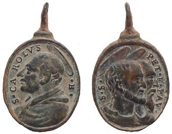 Las  MEDALLAS de San CARLOS BORROMEO. SIGLOS XVI- XVII- XVIII. Apuntes iconográficos. Avelin18