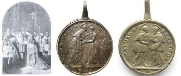 Las  MEDALLAS de San CARLOS BORROMEO. SIGLOS XVI- XVII- XVIII. Apuntes iconográficos. B_saul10