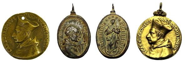 Las  MEDALLAS de San CARLOS BORROMEO. SIGLOS XVI- XVII- XVIII. Apuntes iconográficos. Beato_11
