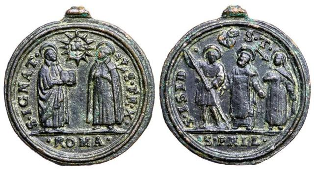 Recopilacion 180 medallas de San Ignacio de Loyola C105_d10