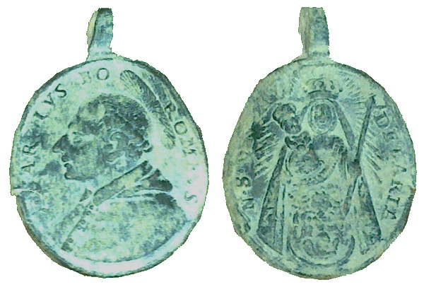 Las  MEDALLAS de San CARLOS BORROMEO. SIGLOS XVI- XVII- XVIII. Apuntes iconográficos. Candel10