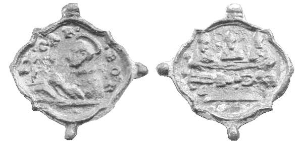 Las  MEDALLAS de San CARLOS BORROMEO. SIGLOS XVI- XVII- XVIII. Apuntes iconográficos. Carlos15