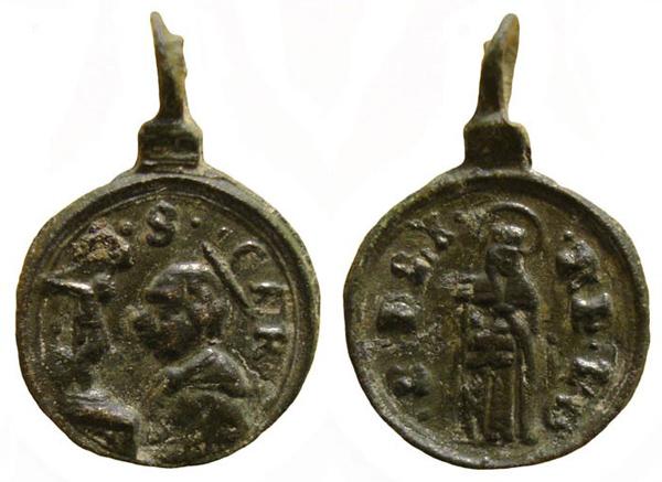 Las  MEDALLAS de San CARLOS BORROMEO. SIGLOS XVI- XVII- XVIII. Apuntes iconográficos. Carlos16