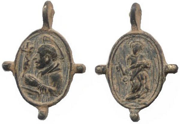 Las  MEDALLAS de San CARLOS BORROMEO. SIGLOS XVI- XVII- XVIII. Apuntes iconográficos. Carlos17