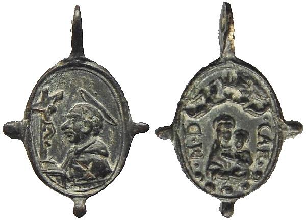 Las  MEDALLAS de San CARLOS BORROMEO. SIGLOS XVI- XVII- XVIII. Apuntes iconográficos. Carmen10
