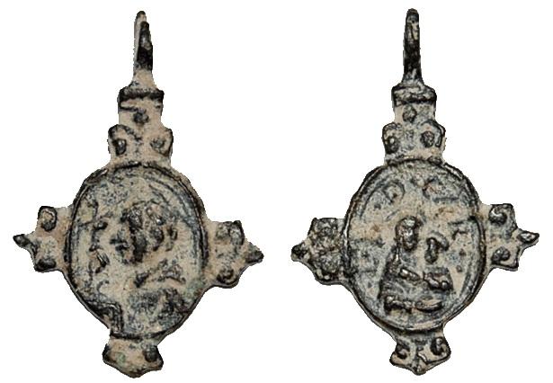 Las  MEDALLAS de San CARLOS BORROMEO. SIGLOS XVI- XVII- XVIII. Apuntes iconográficos. Carmen11