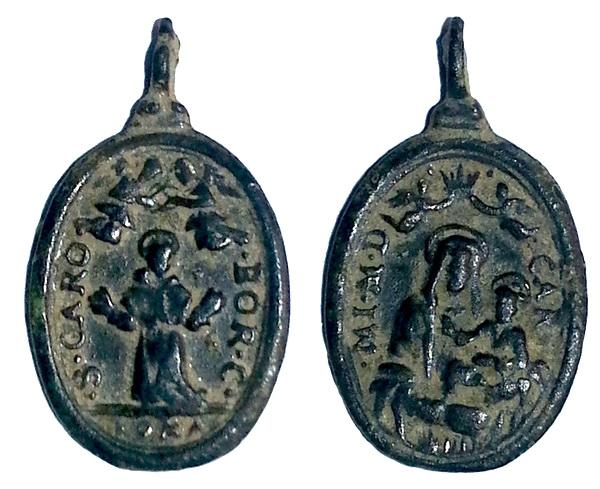 borromeo - Las  MEDALLAS de San CARLOS BORROMEO. SIGLOS XVI- XVII- XVIII. Apuntes iconográficos. Carmen12