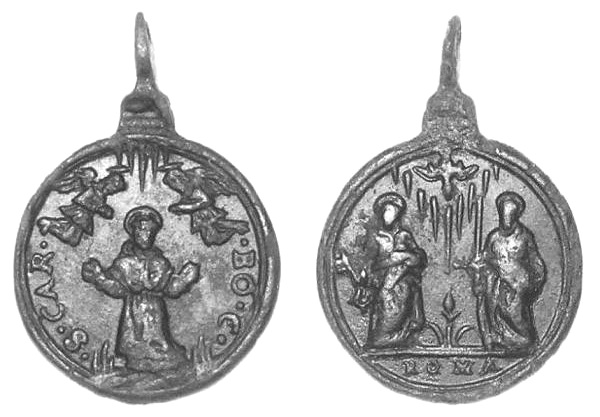Las  MEDALLAS de San CARLOS BORROMEO. SIGLOS XVI- XVII- XVIII. Apuntes iconográficos. Centau10
