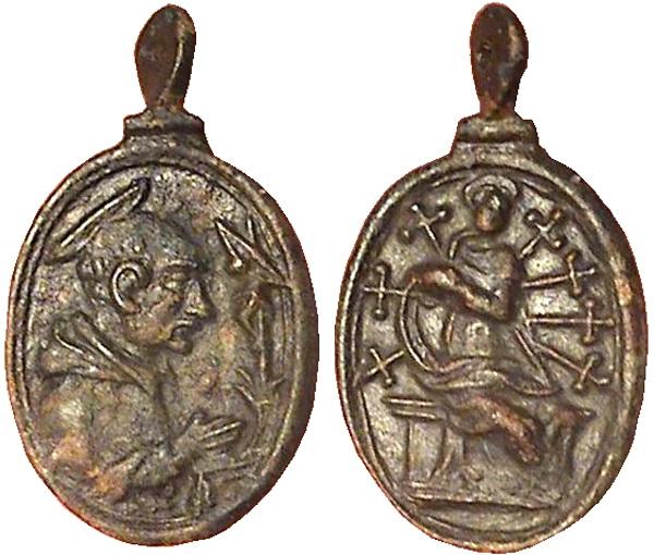 Las  MEDALLAS de San CARLOS BORROMEO. SIGLOS XVI- XVII- XVIII. Apuntes iconográficos. Col_pa10