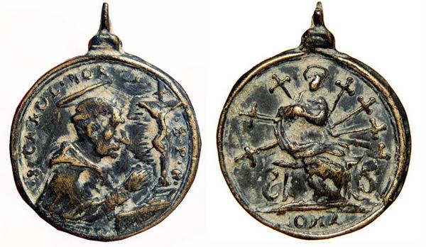 borromeo - Las  MEDALLAS de San CARLOS BORROMEO. SIGLOS XVI- XVII- XVIII. Apuntes iconográficos. Col_pa11