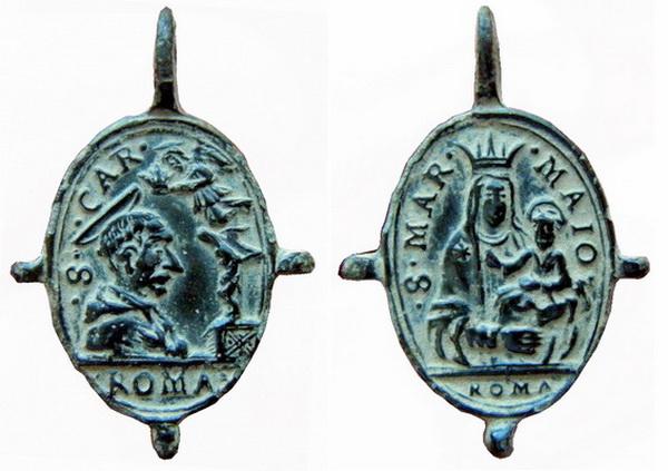 Las  MEDALLAS de San CARLOS BORROMEO. SIGLOS XVI- XVII- XVIII. Apuntes iconográficos. Col_pa12