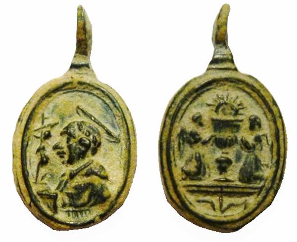 Las  MEDALLAS de San CARLOS BORROMEO. SIGLOS XVI- XVII- XVIII. Apuntes iconográficos. Col_pa13