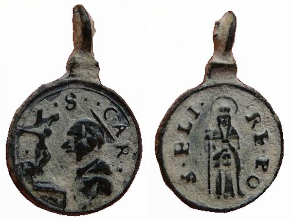 Las  MEDALLAS de San CARLOS BORROMEO. SIGLOS XVI- XVII- XVIII. Apuntes iconográficos. Col_pa16