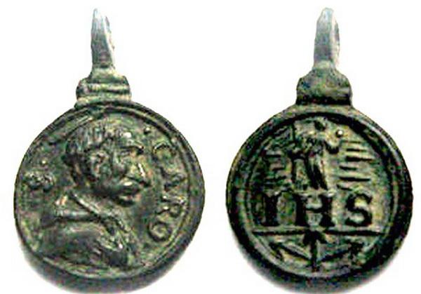Las  MEDALLAS de San CARLOS BORROMEO. SIGLOS XVI- XVII- XVIII. Apuntes iconográficos. Col_pa18