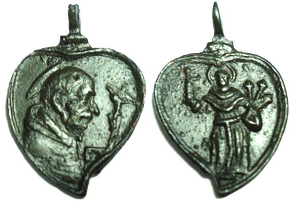 Las  MEDALLAS de San CARLOS BORROMEO. SIGLOS XVI- XVII- XVIII. Apuntes iconográficos. Corsod10