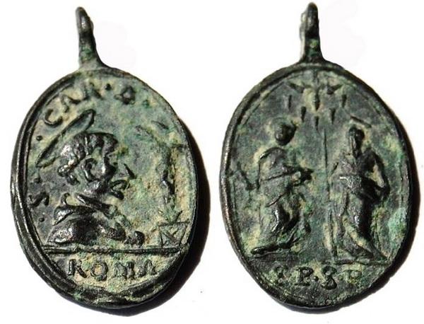Las  MEDALLAS de San CARLOS BORROMEO. SIGLOS XVI- XVII- XVIII. Apuntes iconográficos. Cym_ce10