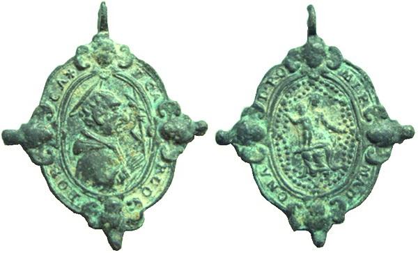 Las  MEDALLAS de San CARLOS BORROMEO. SIGLOS XVI- XVII- XVIII. Apuntes iconográficos. Cym_mn10