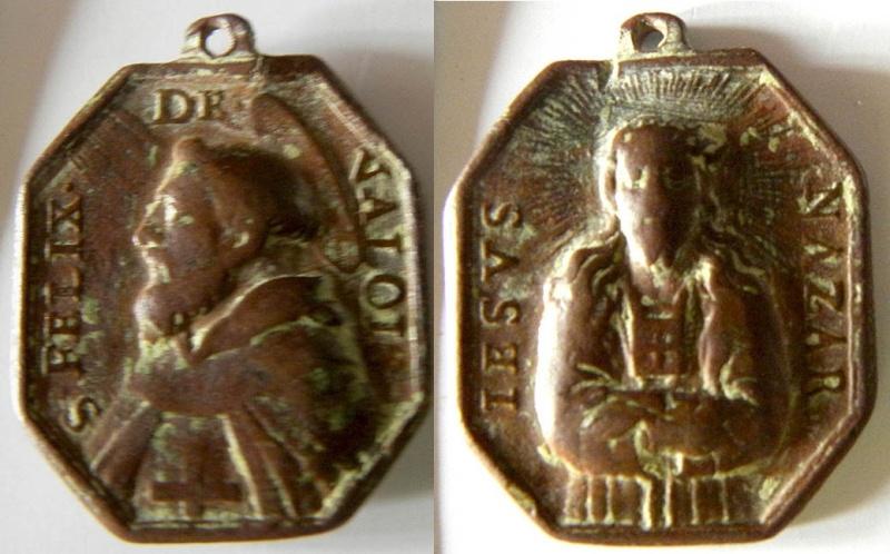 Jesús Nazareno/ San Félix de Valois  , S. XVIII Felix_10