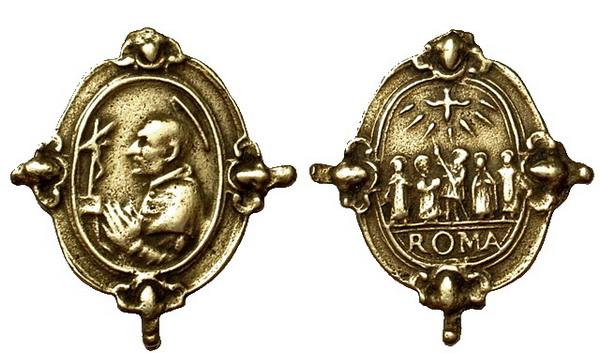 Las  MEDALLAS de San CARLOS BORROMEO. SIGLOS XVI- XVII- XVIII. Apuntes iconográficos. Forner10