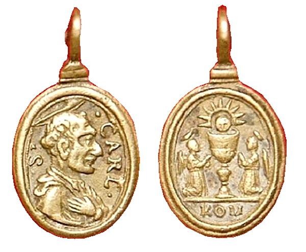 Las  MEDALLAS de San CARLOS BORROMEO. SIGLOS XVI- XVII- XVIII. Apuntes iconográficos. Fsv_1510