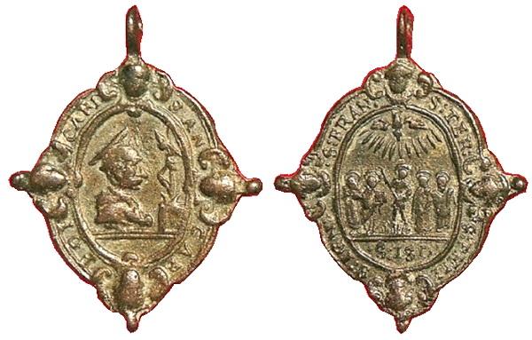 Las  MEDALLAS de San CARLOS BORROMEO. SIGLOS XVI- XVII- XVIII. Apuntes iconográficos. Fsv_2710