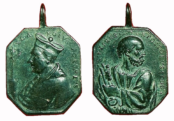 Las  MEDALLAS de San CARLOS BORROMEO. SIGLOS XVI- XVII- XVIII. Apuntes iconográficos. Fsv_3610