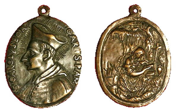 Las  MEDALLAS de San CARLOS BORROMEO. SIGLOS XVI- XVII- XVIII. Apuntes iconográficos. Fsv_ma10
