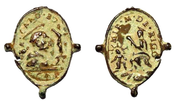 Las  MEDALLAS de San CARLOS BORROMEO. SIGLOS XVI- XVII- XVIII. Apuntes iconográficos. Ghiara10