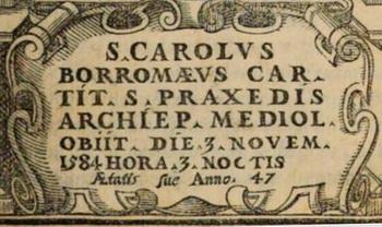 Las  MEDALLAS de San CARLOS BORROMEO. SIGLOS XVI- XVII- XVIII. Apuntes iconográficos. Giussa10