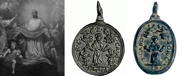 Las  MEDALLAS de San CARLOS BORROMEO. SIGLOS XVI- XVII- XVIII. Apuntes iconográficos. Gloria10