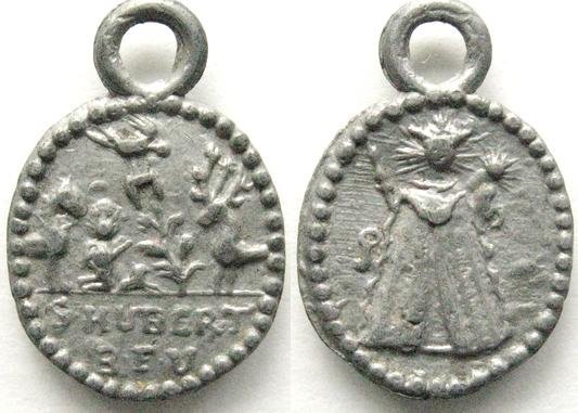 San Huberto de Lieja -  Nuestra Señora Consuelo de los Afligidos de Luxemburgo Hubert11
