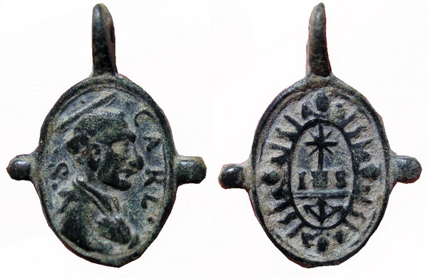 Las  MEDALLAS de San CARLOS BORROMEO. SIGLOS XVI- XVII- XVIII. Apuntes iconográficos. Hugo_111