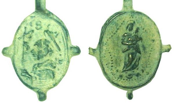 Las  MEDALLAS de San CARLOS BORROMEO. SIGLOS XVI- XVII- XVIII. Apuntes iconográficos. Hugob110